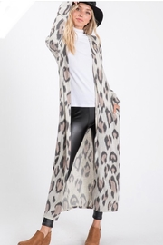 Lovely Melody Cheetah Print Cardigan - Other