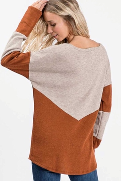 Lovely Melody Rust-Beige Top - Alternate List Image