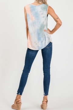 Lovely Melody Tie Dye Tank - Alternate List Image