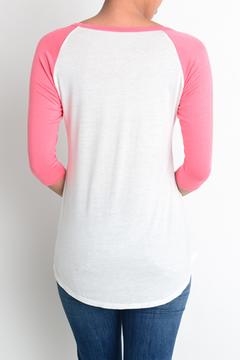 Shoptiques Product: Coral Graphic Tee