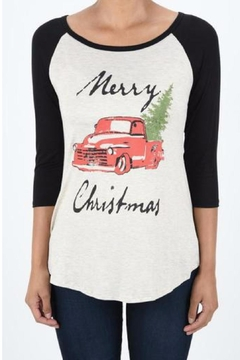 Shoptiques Product: Christmas Truck Tee