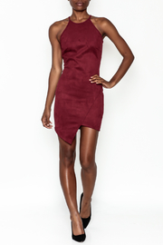 lovelyday Faux Suede Dress - Side cropped