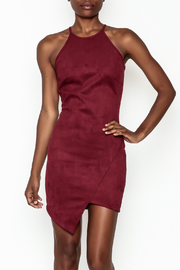 lovelyday Faux Suede Dress - Front cropped