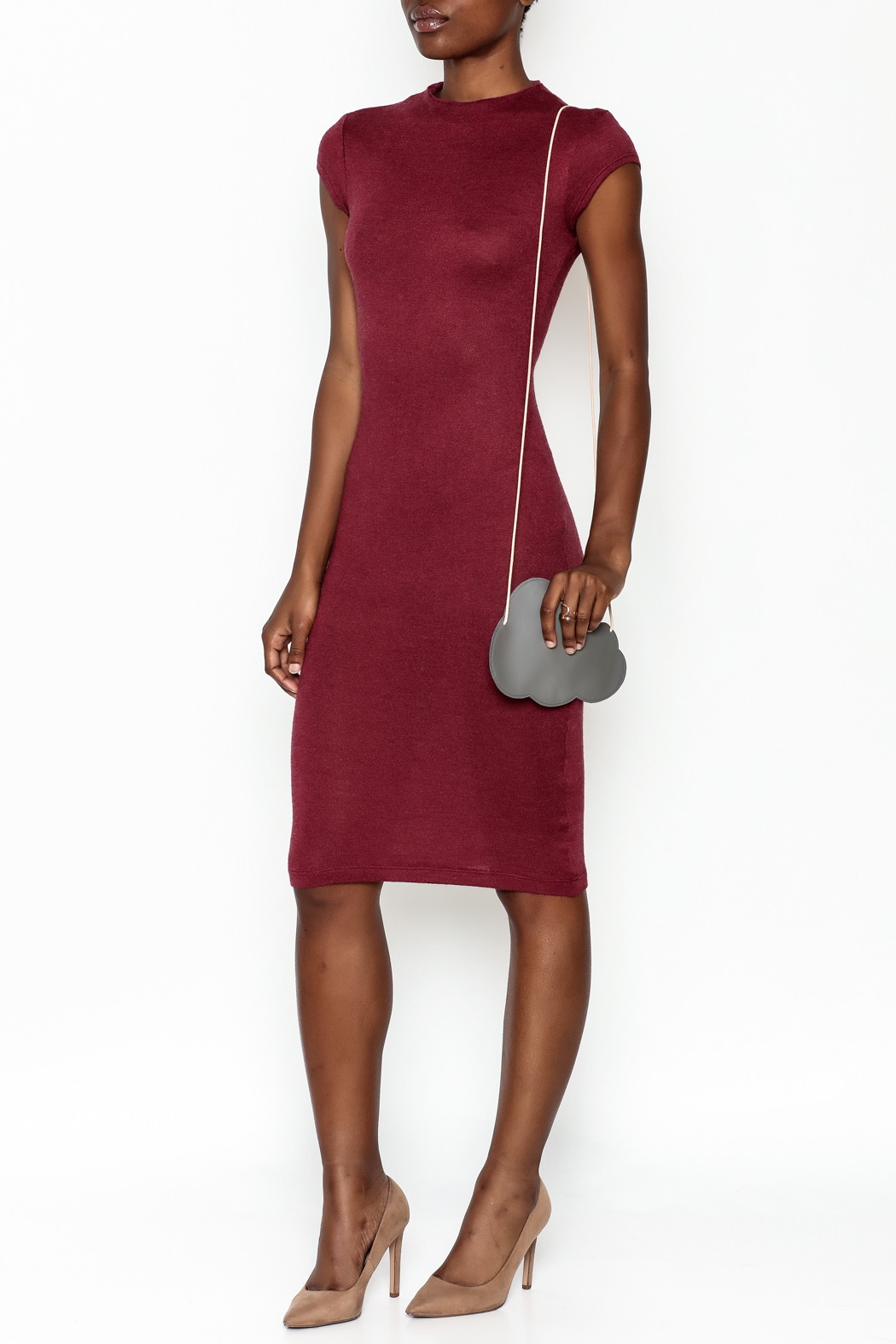 lovelyday Bodycon Dress - Front Cropped Image