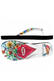 Brighton Lover Flip Flops - Front full body