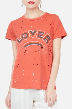 Shoptiques Product: Lover Rainbow Tee