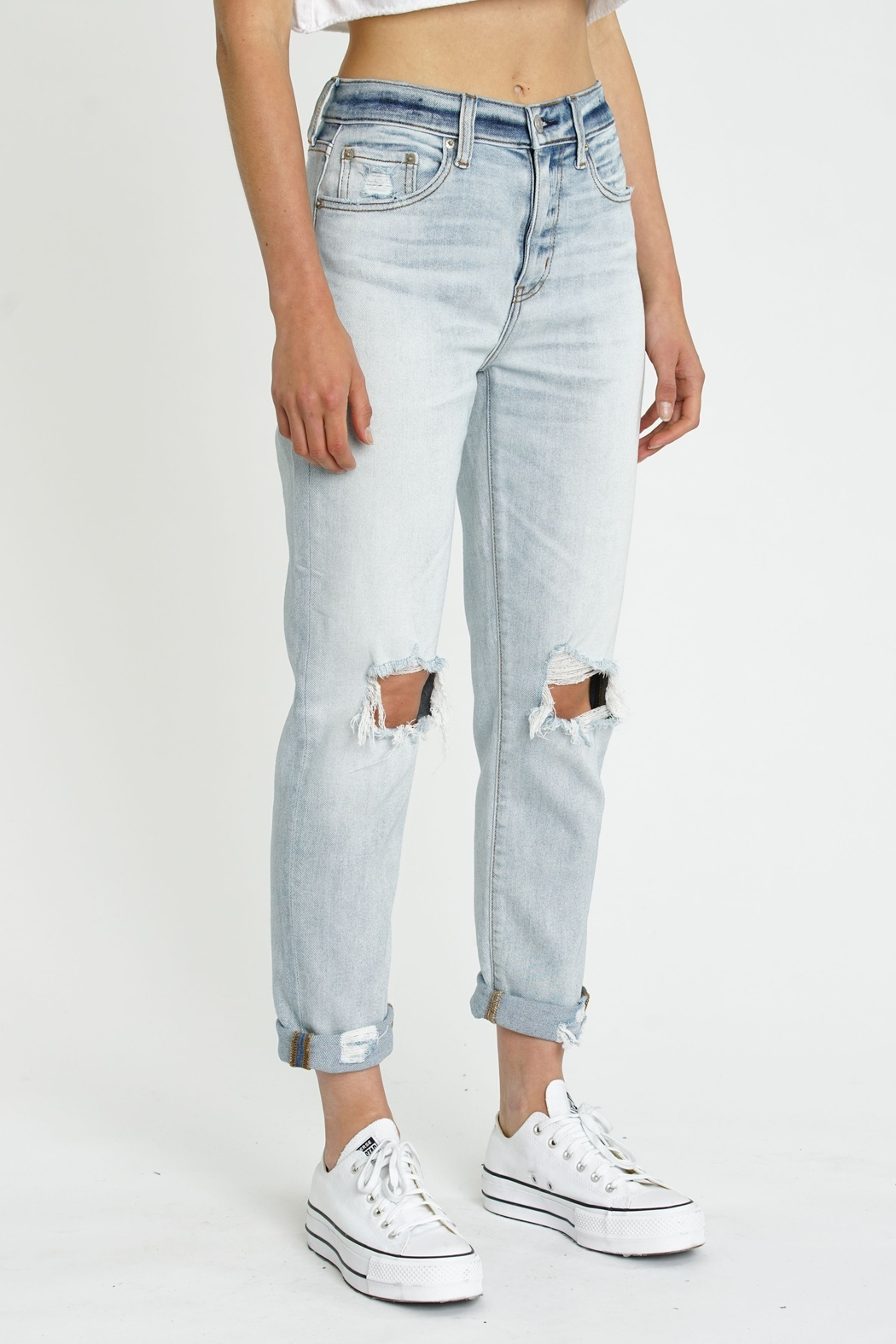 Daze Loverboy High Rise Jeans - FAR OUT - Front Full Image