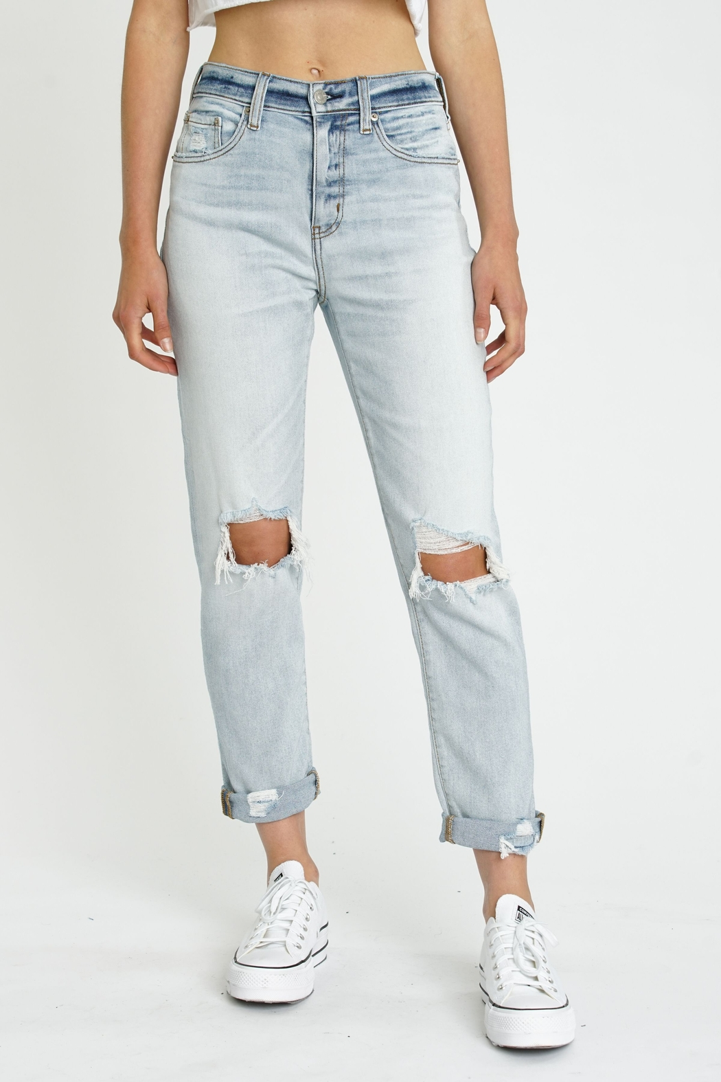 Daze Loverboy High Rise Jeans - FAR OUT - Main Image