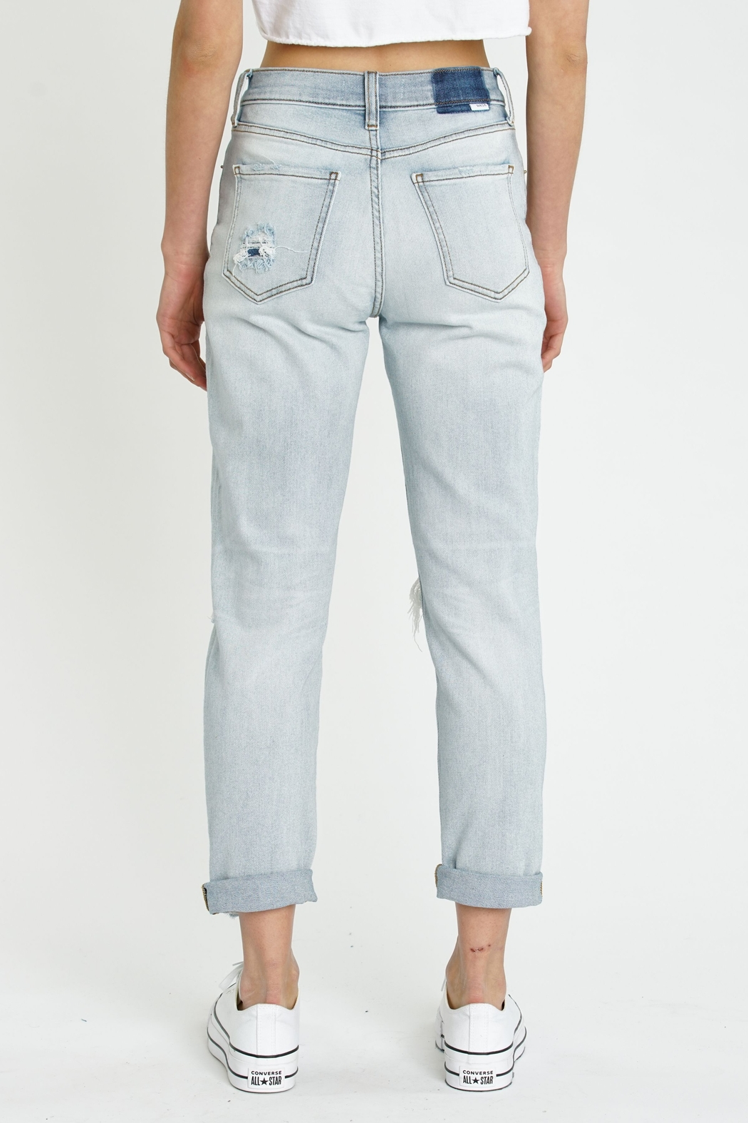 Daze Loverboy High Rise Jeans - FAR OUT - Side Cropped Image