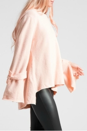 LoveRiche Bell Sleeve Pink Sweater - Other