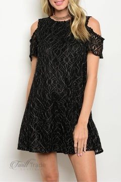 LoveRiche Black Lace Dress - Product List Image