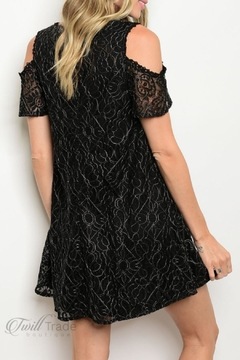 LoveRiche Black Lace Dress - Alternate List Image