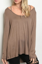 LoveRiche Brown Long Sleeve - Product Mini Image