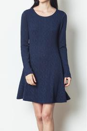 LoveRiche Cable Knit Dress - Product Mini Image