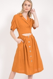LoveRiche Camel Dress - Product Mini Image