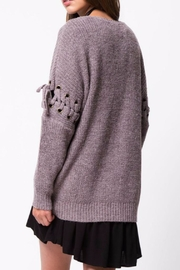LoveRiche Cocoa Sweater - Front full body