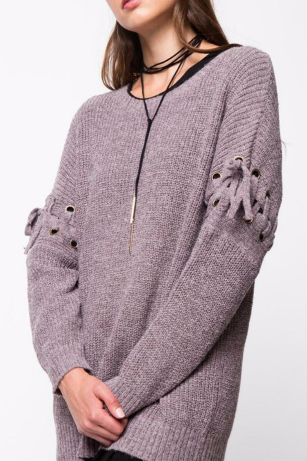 LoveRiche Cocoa Sweater - Main Image