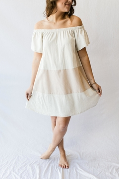 LoveRiche Cold-Shoulder Picnic Dress - Alternate List Image