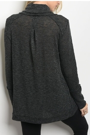 LoveRiche Cowl Neck Top - Front full body