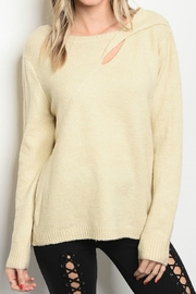 LoveRiche Cream Top - Front full body