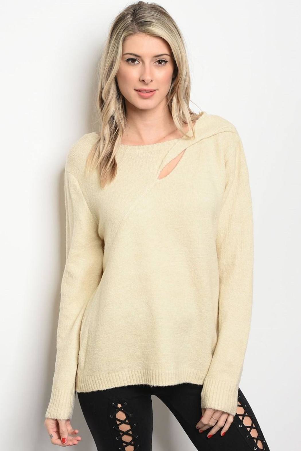 LoveRiche Cream Top - Main Image
