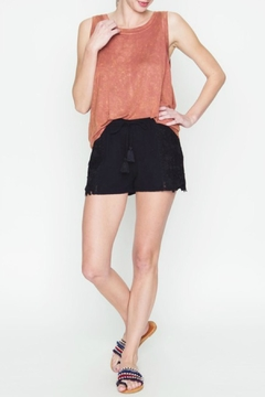 Shoptiques Product: Crochet Drawstring Shorts