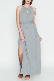 LoveRiche Halter Maxi Dress - Front cropped