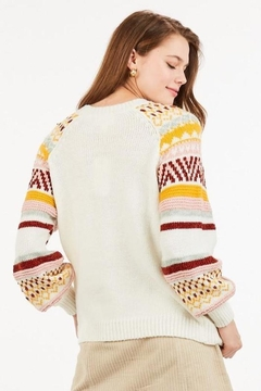 LoveRiche Fall Forcast Sweater - Alternate List Image