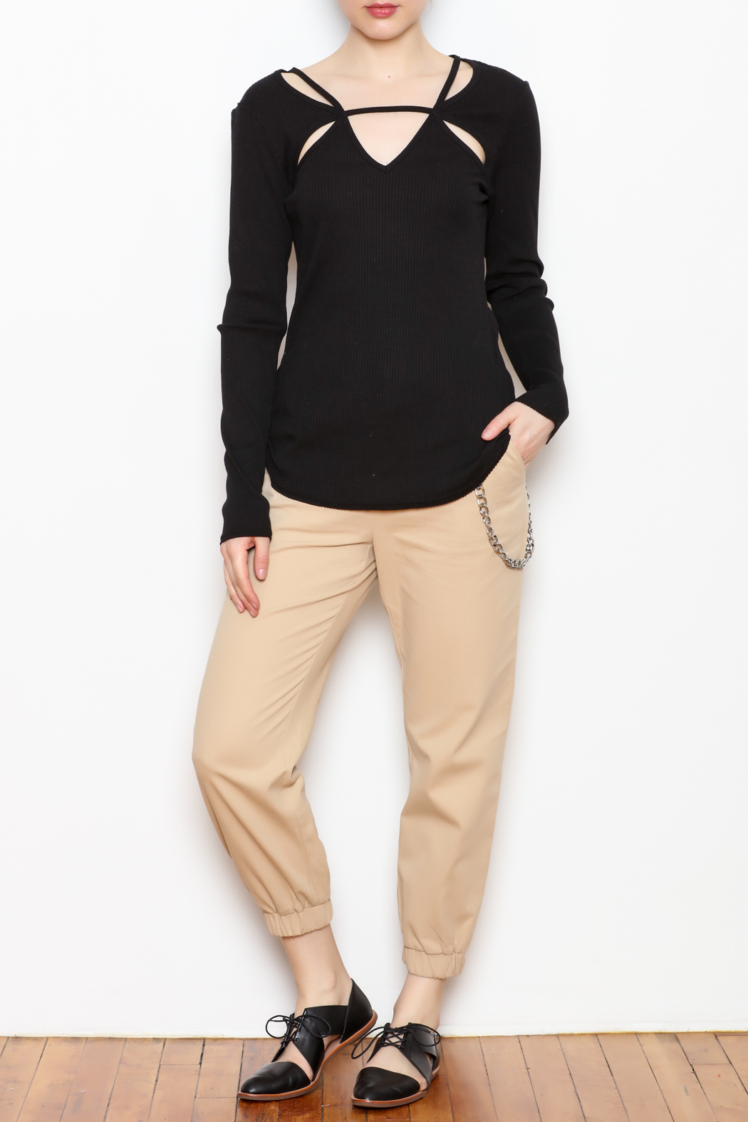 LoveRiche Fitted Long Sleeve - Front Full Image