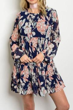 Shoptiques Product: Floral Tunic Dress