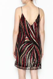 LoveRiche Full Sequins Dress - Back cropped