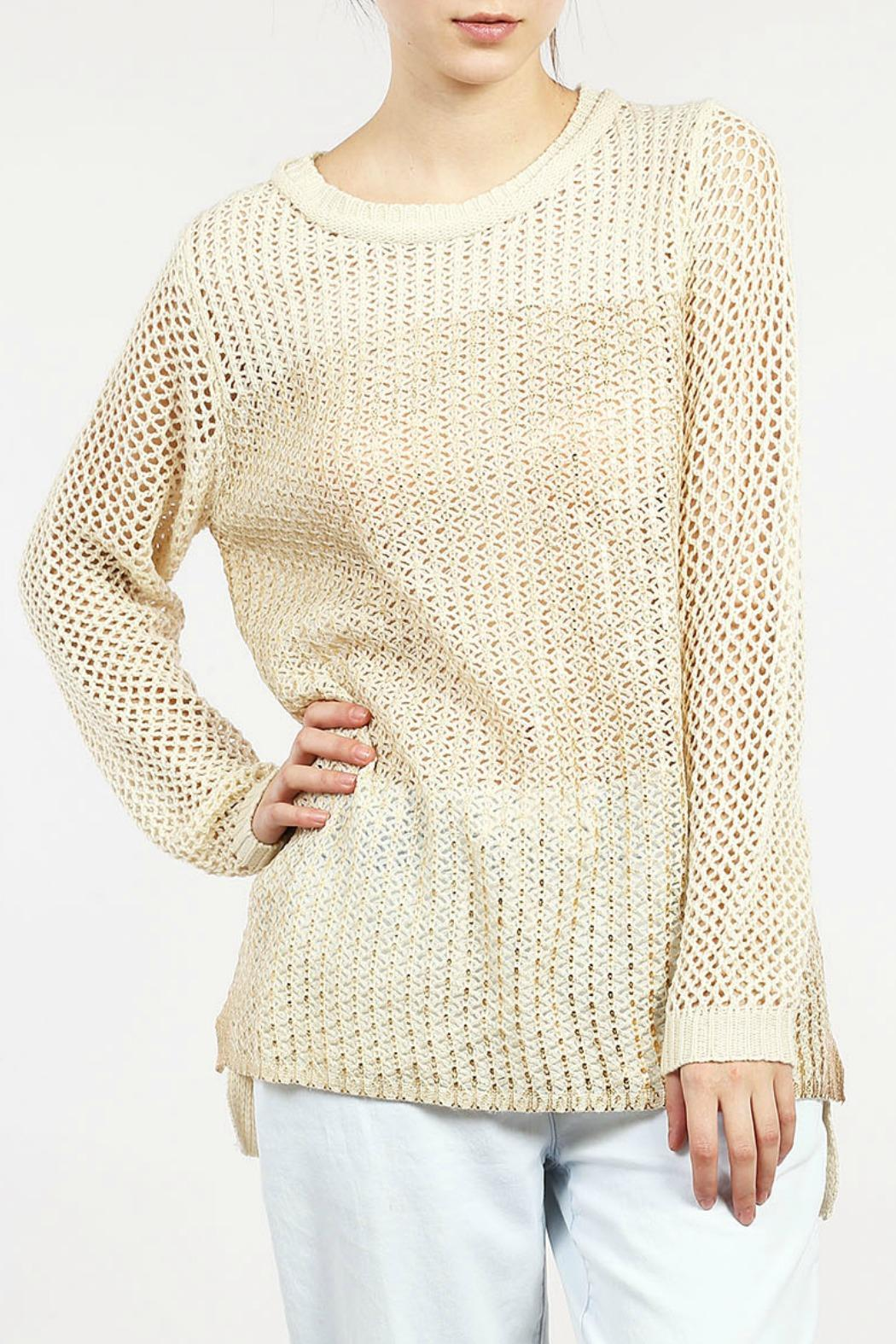 LoveRiche Gold Knit Sweater from Atlanta by GrayeStyle — Shoptiques