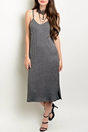 LoveRiche Grey Bodycon Dress - Product Mini Image