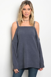 LoveRiche Indigo Sweater - Front cropped