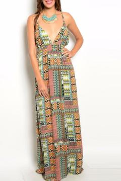 Shoptiques Product: Ivory Multi Dress