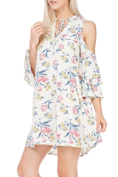 LoveRiche Cold Shoulder Dress - Product List Image