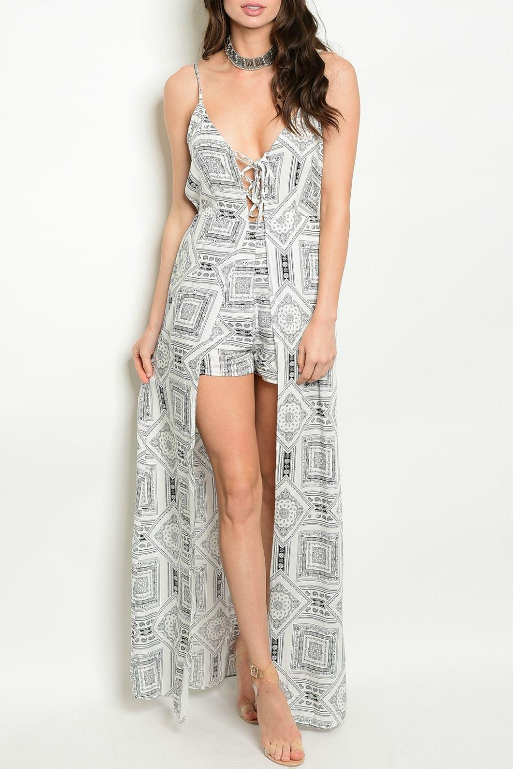 ca6a190c5401 LoveRiche Jagger Maxi Romper from Massachusetts by Lux Boutique ...