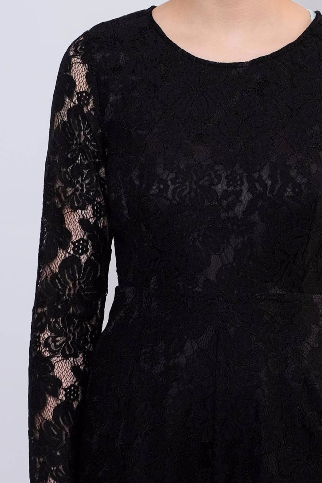 LoveRiche Lace Romper - Back Cropped Image