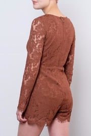 LoveRiche Lace Romper - Side cropped