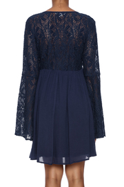 LoveRiche Leanne Lacy Dress - Back cropped