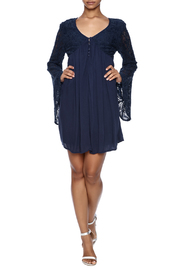 Shoptiques Product: Leanne Lacy Dress - Front full body