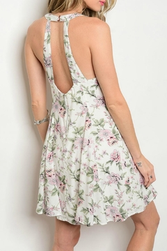 LoveRiche Lila Floral Sleeveless Dress - Alternate List Image