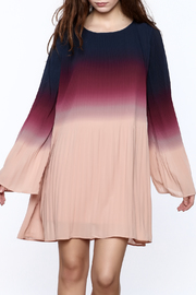 LoveRiche Long Sleeved Ombre Swing Dress - Product Mini Image