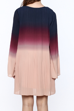 Shoptiques Product: Long Sleeved Ombre Swing Dress