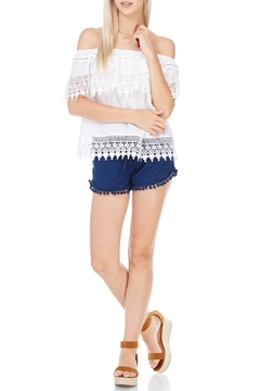 LoveRiche Off The Shoulder Lace Top - Product List Image