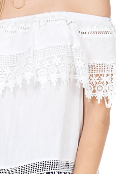 LoveRiche Lace Detail Top - Alternate List Image