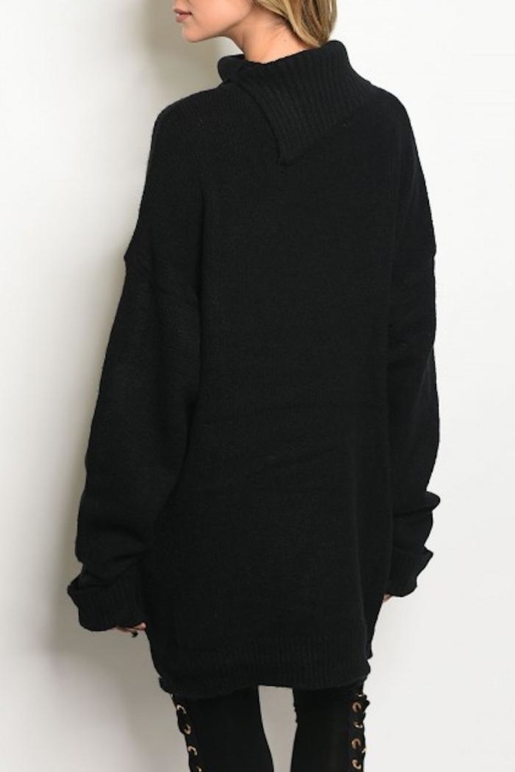 LoveRiche Oversized Turtleneck Sweater from Michigan by HUMANITY ...