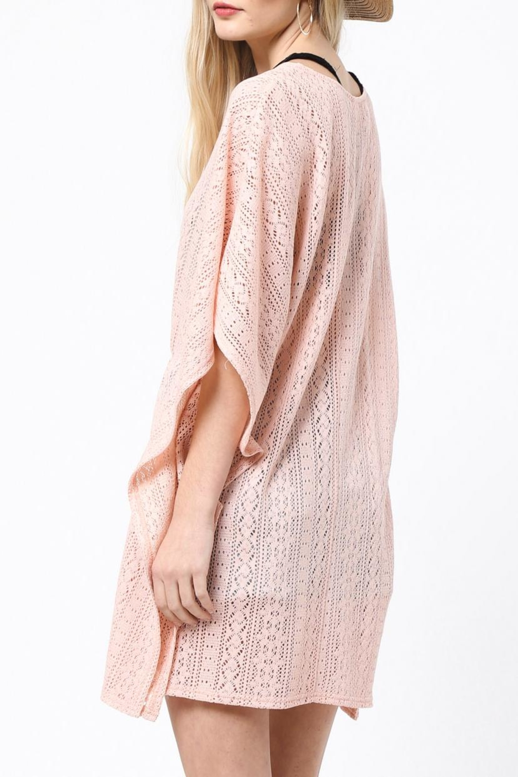 LoveRiche Peachy Keen Coverup - Side Cropped Image