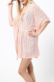 LoveRiche Peachy Keen Coverup - Front full body