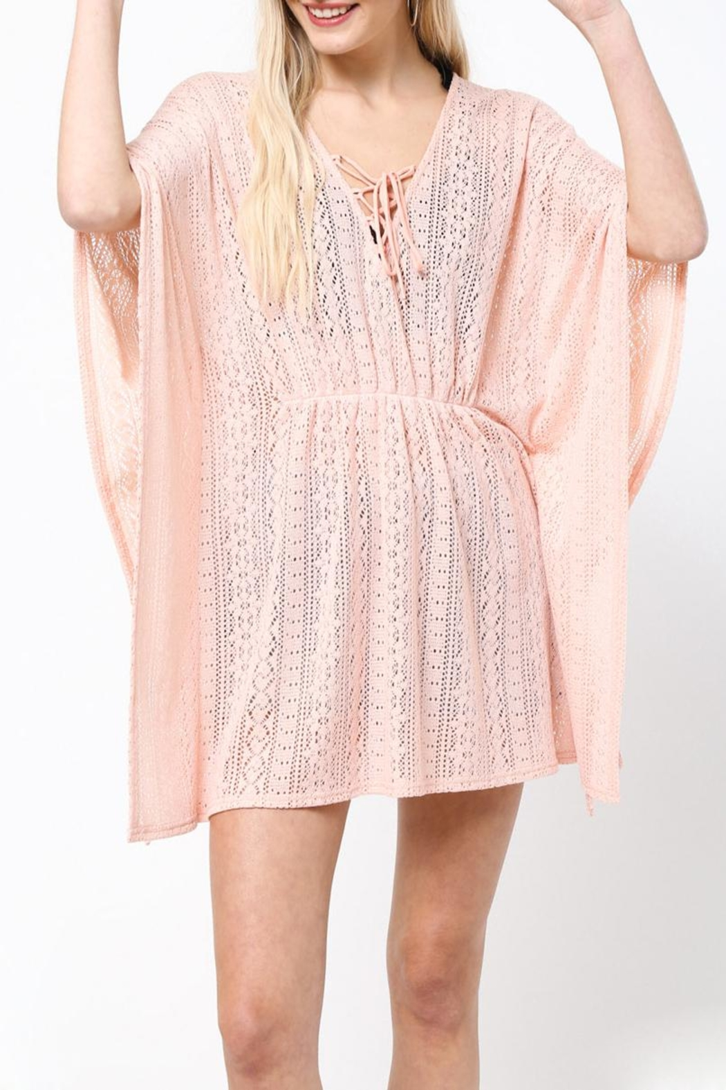 LoveRiche Peachy Keen Coverup - Main Image